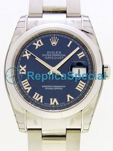 Acciaio inossidabile Rolex Datejust Mens 116200BLRO Automatico Caso Mens Watch