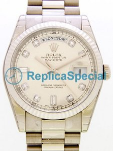 Acciaio inossidabile Rolex President Midsize 118239A Mens Automatic Cassa Bracelet Watch